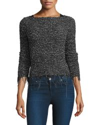 Bailey 44 - Speckled Roundneck Jumper - Lyst