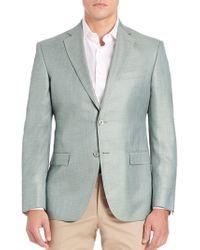 Saks Fifth Avenue - Two-button Blazer - Lyst