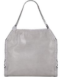e607e80c7f Stella McCartney - Women s Falabella Baby Bella Shoulder Bag - Navy - Lyst