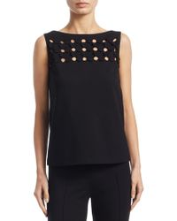 Akris Punto - 3d Punto Petals Sleeveless Top - Lyst