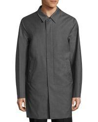 Pal Zileri | Solid Cotton Knit Coat | Lyst