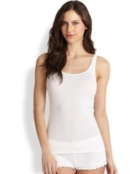 Skin | Essential Ribbed Tank Top | Lyst