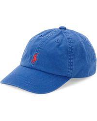 Ralph Lauren Classic Baseball Cap - Blue