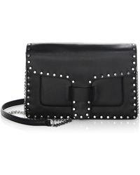 Rebecca Minkoff - Midnight Medium Leather Crossbody Bag - Lyst