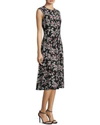 Lafayette 148 New York - Marley Floral Midi Dress - Lyst