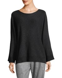 Lafayette 148 New York - Vanise Scoopneck Sweater - Lyst