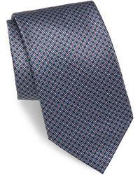 Brioni - Silk Mini-square Tie - Lyst