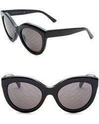 Balenciaga - Cat Eye 54mm Sunglasses - Lyst