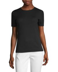 St. John - Short-sleeve Top - Lyst