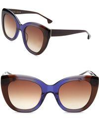 Alice + Olivia - Mercer Cat Eye Sunglasses - Lyst