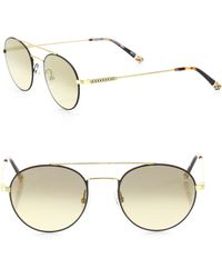 Etnia Barcelona - Vintage Born Sun 50mm Double-bridged Round Sunglasses - Lyst