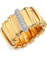 Roberto Coin - Nabucco Diamond & 18k Rose Gold Ring - Lyst