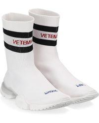 Vetements - Reebok Sock Court Shoes - Lyst