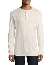 Twenty | Knit Long Sleeve Sweatshirt | Lyst