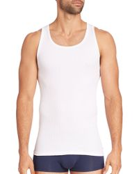 CALVIN KLEIN 205W39NYC - Classic Cotton Tank/ 3-pack - Lyst