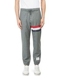 Thom Browne - Cotton Sweatpants - Lyst