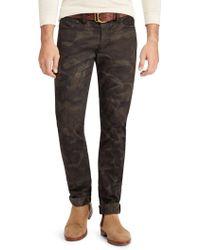 Polo Ralph Lauren - Sullivan Camo Stretch Jeans - Lyst