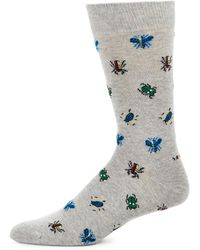 Barbour - Beetle Embroidered Socks - Lyst