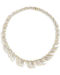Adriana Orsini - Pirouette All-around Necklace - Lyst