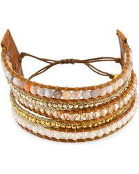 Chan Luu - African Opal Mix Wrap Bracelet - Lyst