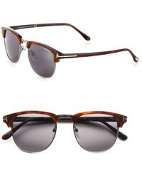 Tom Ford - Henry Horn-rimmed Sunglasses - Lyst