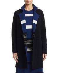 Akris - Reversible Knit Cashmere Coat - Lyst