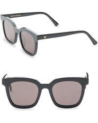 ccf5c1d2a9a Gentle Monster Droid X Tome Sunglasses - Black grey in Black - Lyst