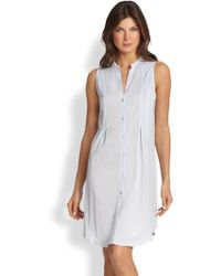 Hanro | Button-front Tank Gown | Lyst