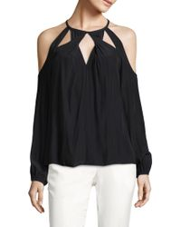 Ramy Brook | Amanda Cold-shoulder Top | Lyst