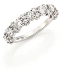 Hearts On Fire | Gracious Diamond & 18k White Gold Ring | Lyst