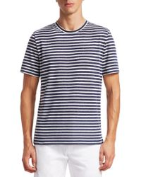 Saks Fifth Avenue - Collection Stripe Tee - Lyst
