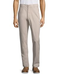 AG Green Label - Slim Fit Trousers - Lyst