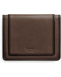 Shinola - Layered Card Wallet - Lyst