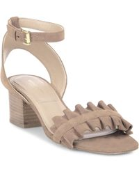 Michael Kors - Monroe Suede Ankle-strap Sandals - Lyst