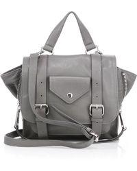 Linea Pelle - Rowan Mini Leather Messenger Bag - Lyst