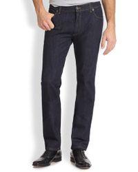 Ferragamo - Five-pocket Straight-leg Jeans - Lyst