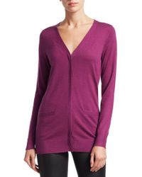 Saks Fifth Avenue - Collection Cashmere Cardigan - Lyst