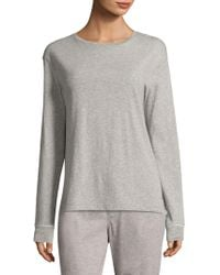 Sleepy Jones - Stevie Crewneck Pajama Top - Lyst