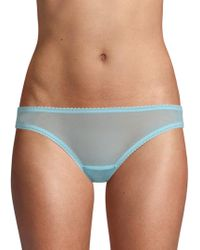 On Gossamer - Mesh Bikini Panties - Lyst