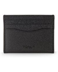 COACH - Crossgrain Leather Card Case - Lyst