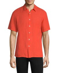 Theory - Irving Button-down Shirt - Lyst