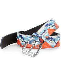 Paul Smith - Leather Fish Belt - Lyst