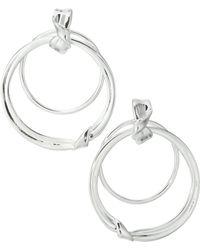 Ippolita - Classico Sterling Silver Folded Door Knocker Earrings - Lyst