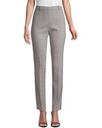 BOSS - Slim-fit Graphic Suiting Trousers - Lyst
