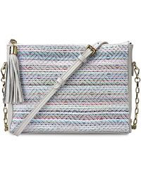 Gigi New York - Hailey Tasseled Crossbody Bag - Lyst