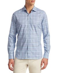 Saks Fifth Avenue | Collection Cotton Button-down Shirt | Lyst