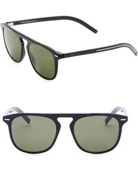 Dior Homme - Black Tie 24 52mm Square Sunglasses - Lyst