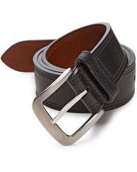 Shinola | Double Stitch Belt | Lyst