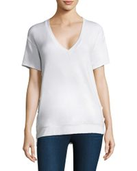 Feel The Piece - Charles Lace-up Tee - Lyst