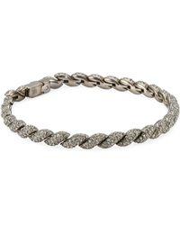 Adriana Orsini - Flexible Swarovski Crystal Line Bracelet - Lyst